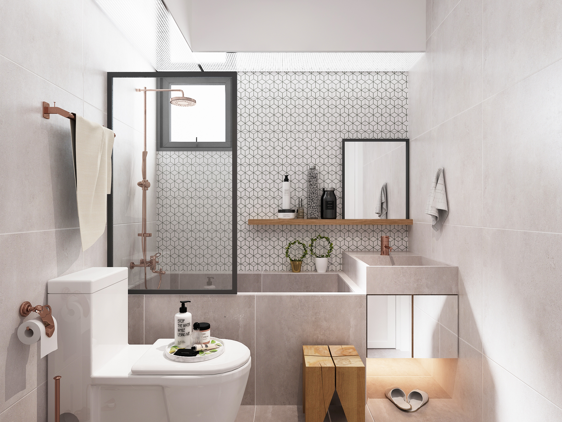 BLK 132C CANBERRA VIEW #08-77 03 COMMON BATHROOM 00